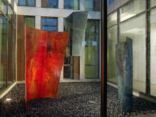 Jan Scharrelmann, Inna Heights, Epoxidharz und Pigmente, 2007 ©Der Künstler