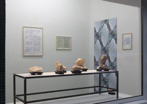 Ausstellungsansicht rechte Raumseite