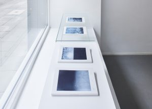 Publikationen_1, 2018, je 50 Fotogravuren aud´f Dosabiki Masahi, 85 g/m² made in Japan, 24,8 x 18,5 x 2 cm, Druck und Bindung Düsseldorf 2018, Auflage 6