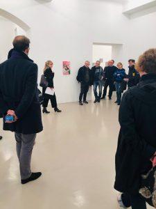 Galerierundgang Courtesy Galerie Thomas Rehbein / Ausstellung ADA ©Werke Joelle Dubois/William Antony. Anne Scherer