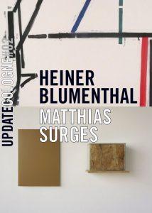 Ausstellungsplakat Update Cologne