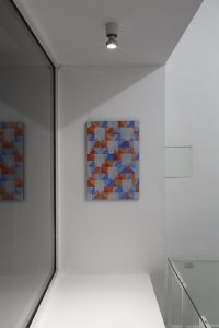 Christof John, »Ohne Titel«, 2019 Acryl auf MDF 60 × 40 cm