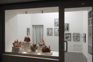 Nschotschi Haslinger »DER GEHEIME DIENST« Ausstellungsansicht von rechts