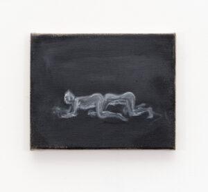 Pauł Sochacki, »Singularity«, 2018, Öl auf Leinwand, 24 x 29 cm