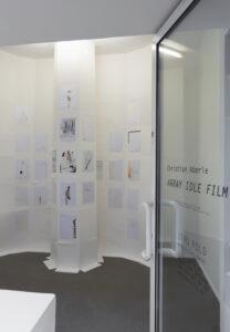 Web_Ansicht 1, Christian Aberle_Array Idle Film, 2020/21, Papierintarsien, je 29,7 x 21 cm